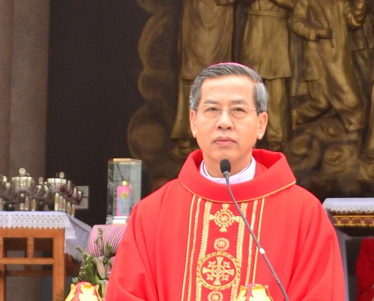 Audio bài giảng của Đức Cha trong lễ kính Các Thánh Tử Đạo VN, 2016